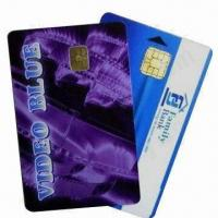 Buy cheap PVC Contact Smart Chip Cards (Chip 4442), Measures 86x54x0.84mm from wholesalers