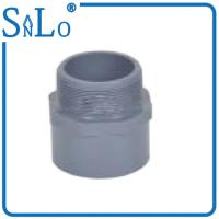 Buy cheap Male Grey Pvc Pipe Joints Couplings For Underground Pipe 20 - 110 Mm Suatomized from wholesalers