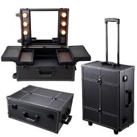 Buy cheap Cosmetics Mini Studio Togo Makeup Case, Black / White from wholesalers