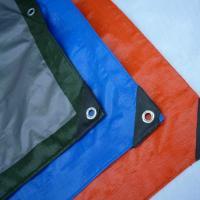 Waterproof PE Tarpaulin Sheet / Polyethylene Sheet Roll Ground Cover