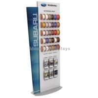 Buy cheap Car Accessories Retail Store Slatwall Display Stands Double Sided With Custom Logo from wholesalers