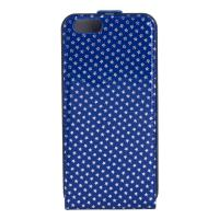 Buy cheap Blue Handmade Boys Leather Apple iPhone Case With Star Pattern , Eco-friendly from wholesalers