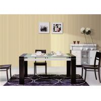 Buy cheap Kitchen Dining Room Wallpaper That Looks Like Grasscloth , Sound Proof product