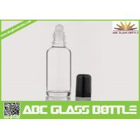 Buy cheap Wholesale White 30ml Roll On Glass Bottle With Roller, Bottle Roll-on, Clear Essential Oil Glass Bottle from wholesalers