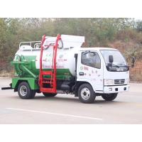 Buy cheap Kitchen Restaurant Waste Removal Trucks Hydraulic Self Loading & Discharging product