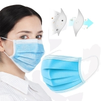 Buy cheap 50 Pcs Disposable Face Mask - Anti-Dust Filter, Breathable, 3 Layers of Purifying from wholesalers