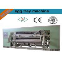 Waste Paper Full Auto Rotating Type Egg Tray Forming Machinery / 5000pcs/ h