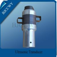Welding Machine High Power Ultrasonic Transducer , Multi frequency ultrasonic transducer