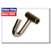 Buy cheap Metal Pickup / Cargo Tie Down Hooks For J Hook Ratchet Straps 11mm Dia from wholesalers