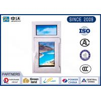 Buy cheap Manual Shaped Fire Resistant Windows With Hollow Double Tempered Glass from wholesalers