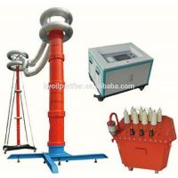 Buy cheap AC Resonant Test System for substation Equipment AC withstand voltage testing from wholesalers