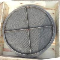 Buy cheap Stainless steel wire mesh mist eliminator / gas liquid wire mesh demister from wholesalers