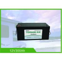Buy cheap 12 Volt 300Ah RV Battery Deep Cycle High Inrush Current Bluetooth / WIFI Connection from wholesalers