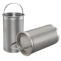 Buy cheap Basket Washable Furnace Filters Stainless Steel Mesh Strainer from wholesalers