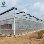 Buy cheap Custom 0.35KN/M2 33ft Tomato Polyethylene Film Greenhouse from wholesalers