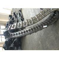 Buy cheap Black Agricultural Tracks Wear Resistance Custom Rubber Tracks High Speed from wholesalers