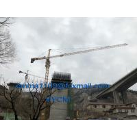 Buy cheap 5tons TC5010 Hammer Head Types of Tower Cranes in Cambodia Form E from wholesalers