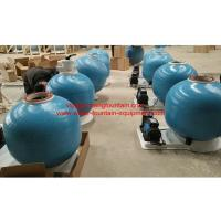 Buy cheap 25 Inch Fiberglass Swimming Pool Sand Filters With Pump Set Filtration System from wholesalers