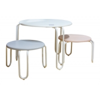 Buy cheap MDF Top Assemble 40kg Childrens Table And Chairs Set from wholesalers