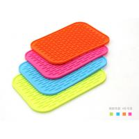 Buy cheap FDA Standard  Non slip Silicone Mat ,  Kitchenware silicone heat mat Rectangle shaped from wholesalers