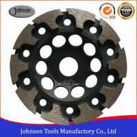 Buy cheap 125mm T Segment Diamond Cup Grinding Wheel For Concrete Metal Bond Material from wholesalers