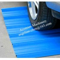 Buy cheap Plastic PVC high strength corrugated wave roofing tile/roofing panel production line product