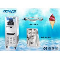 Buy cheap Commercial 3 Flavor Frozen Yogurt Ice Cream Machine Air Pump Feed 40Liters/Hour from wholesalers