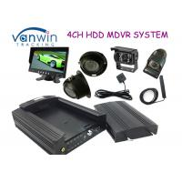 Buy cheap 3G HD HDD Rugged Mobile DVR hidden security cameras system for Taxi management from wholesalers