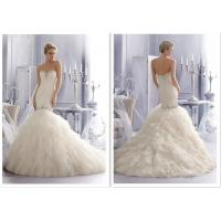 Buy cheap Sweetheart Sheath Fit And Flare Wedding Gown Capes Cloaks Jacket Wraps from wholesalers