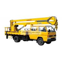 Buy cheap High Lifting Platform Special Vehicles Truck Mounted Lift With 2000kg Max from wholesalers