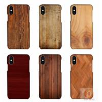 Buy cheap Customized Wood Printed mobile phone shell For iPhone X , 3D sublimation blank phone case for iphone 10 from wholesalers