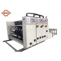 Buy cheap Semi Automatic Corrugated Box Printing Machine , Carton Paper Flexo Printing Machine for Packing Industry from wholesalers