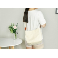 Buy cheap Lined With Flannel Fabric Girls 16oz Canvas Messenger Bag from wholesalers