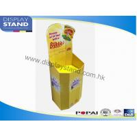 Buy cheap Economical PDQ / Cardboard Storage Bins Promotion Display for Supermark from wholesalers
