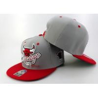 Buy cheap Fashion Flat Brim Hip Hop Baseball Cap Hiphop Hat with 3D Puff Embroidery from wholesalers