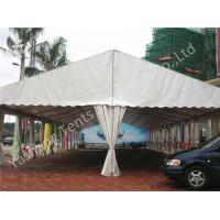 Buy cheap High Wind Load Outdoor Ceremony Event Tent Structure White PVC Fabirc Cover from wholesalers