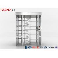 Buy cheap 120 Degree Single Channel Full High Turnstile High Security 20 -30 Persons / Minute product