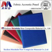 Buy cheap Fireproof Fiberglass Fabric Soundproof Material Acoustic Panel from wholesalers