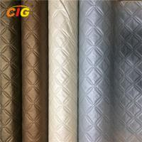 Buy cheap Decoration Emboss And Pinted PVC Artificial Leather For Furniture Anti Mildew product