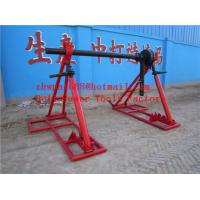 Buy cheap Hydraulic cable drum jack  Hydraulic lifting jacks for cable drums product