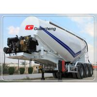 Buy cheap Bulk cargo trailer cement truck powder material semi trailer with CCC certification product