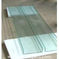 Buy cheap 7mm U Shaped Glass Perfect Sound Insulation With High Mechanical Strength product
