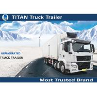 Buy cheap Frozen Food Transportation Refrigerated Trailer from wholesalers