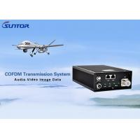 Buy cheap No Delay COFDM Transmitter , High Power Video Transmitter With Dual RJ45 Port from wholesalers