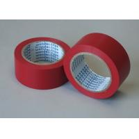 Buy cheap Red Adhesive Floor Marking Tape PVC Film Thickness 0.5MM For Pipe Wrapping from wholesalers
