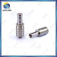 Buy cheap 2.4ohm Dual Coil E cig Rebuildable Atomizer A6s With Removable 510 Drip Tip from wholesalers
