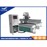 Buy cheap Multi Spindle 3 Spindles Woodworking CNC Router , Simple Auto Tool Changer Cnc Router Machine ATC from Wholesalers
