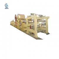 Buy cheap 4200mm Raw material waste paper, Wood pulp ,virgin pulp tissue paper recycling machine from wholesalers