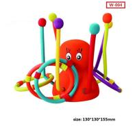 Buy cheap Custom New Kid Play Throw Ring Octopus Toys Interactive Educational Toys from wholesalers