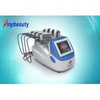Buy cheap 3 Size Portable Lipo Laser Slimming Machine for cellulite removal 100 - 240V AC from wholesalers